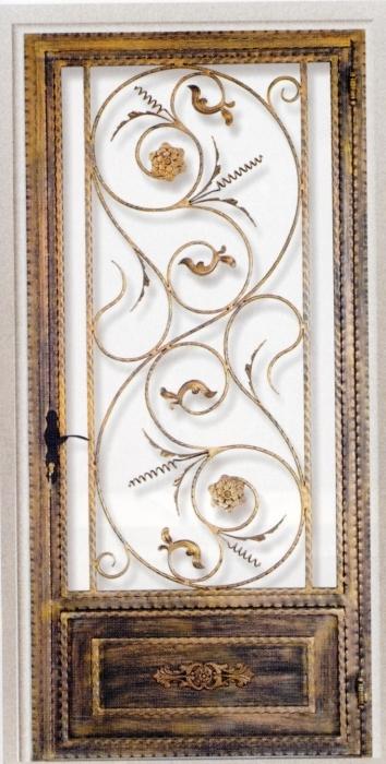 Iron gate Emma - Wrought Iron / Gate, door - Wrought Iron catalogue ...