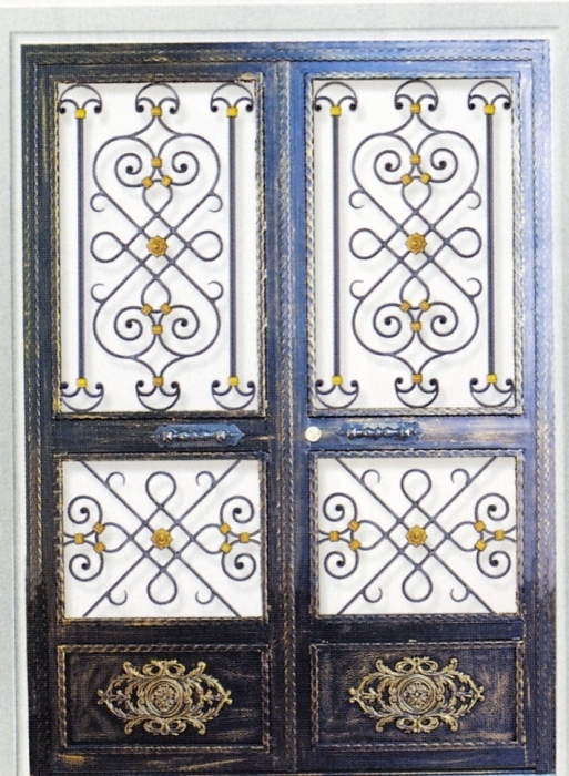 Iron gate Florence - Wrought Iron / Gate, door - Wrought Iron ...