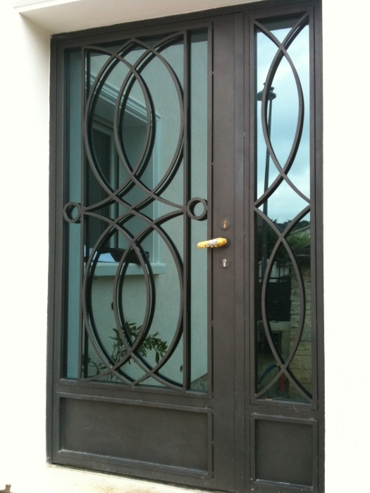 Iron Gate C 233 Lestine Wrought Iron Gate Door Wrought