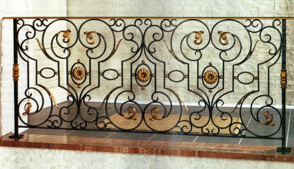 Wrought iron fence ludivine wrought iron fences for Fenetre fer forge 2017